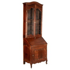 18th Century Louis XV Style Mahogany Scriban or Secretaire