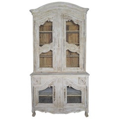 18th Century Louis XV Style Painted Buffet de Corps