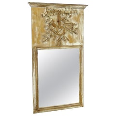 18th Century Louis XV Trumeau Mirror