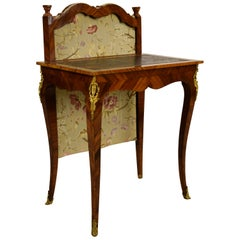 18th Century Louis XV Violet Wood French Writing Table