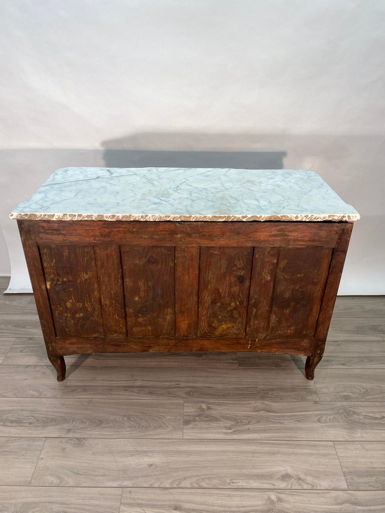 French 18th Century Louis XVI Commode Signed T.C. For Sale