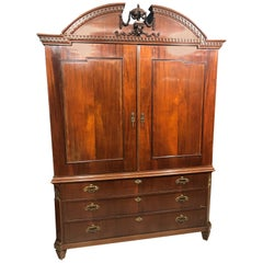 18th Century Louis XVI Dutch Mahogany