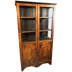 18th Century Louis XVI France Rosewood Walnut Inlay Cabinet, 1790s