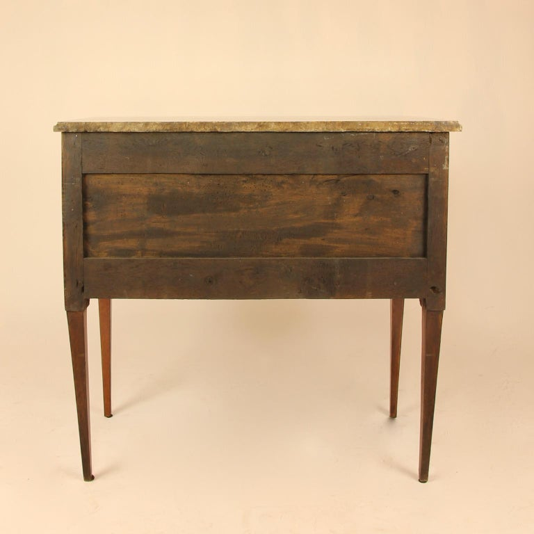 18th Century Louis XVI Neoclassical Marquetry Commode or Chest of Drawers 7