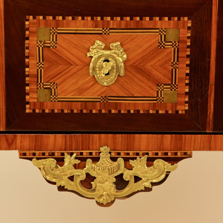 18th Century Louis XVI Neoclassical Marquetry Commode or Chest of Drawers 3