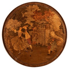 18th Century Louis XVI Style Parquetry Games Table