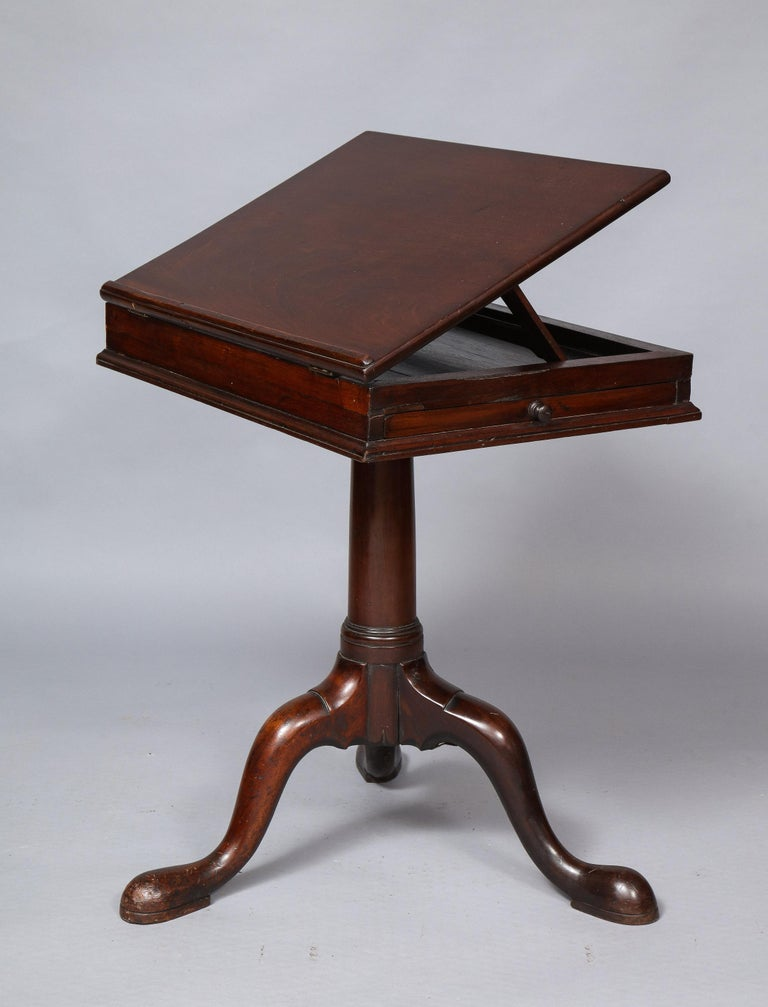 18th Century Mahogany Bookstand For Sale 7