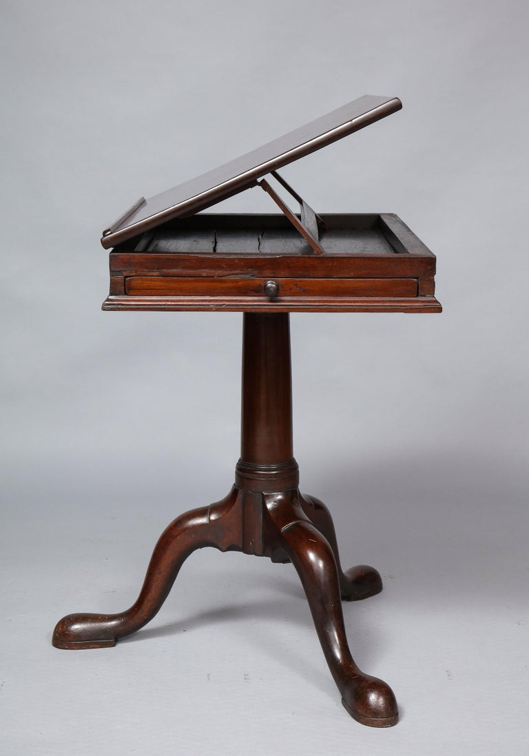 18th Century Mahogany Bookstand For Sale 8