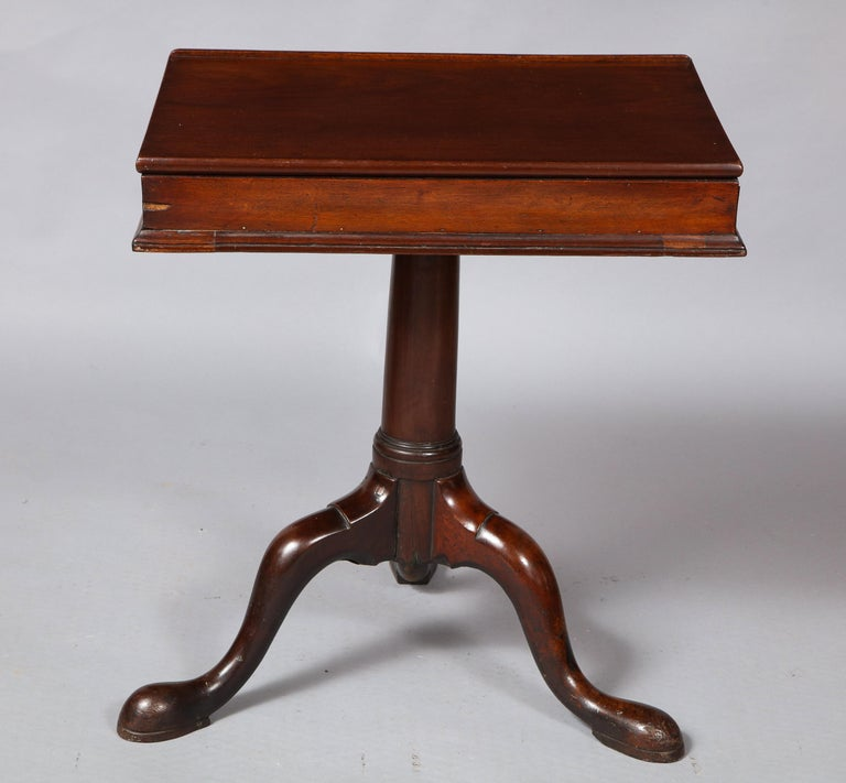 18th Century Mahogany Bookstand For Sale 1