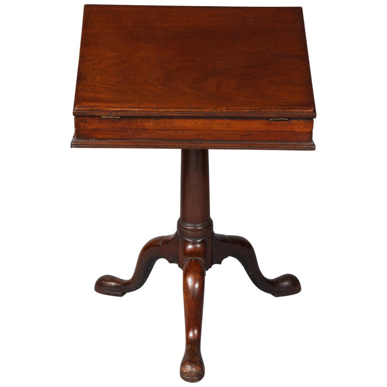 18th Century Mahogany Bookstand For Sale