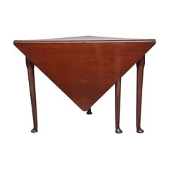 18th Century Mahogany Envelope Table
