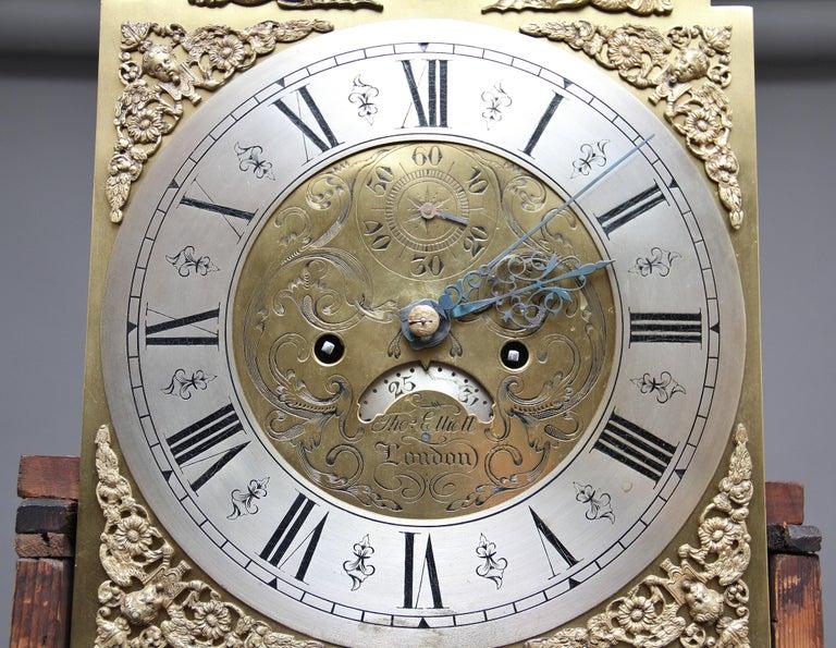 18th Century Mahogany Long Case Clock For Sale 8