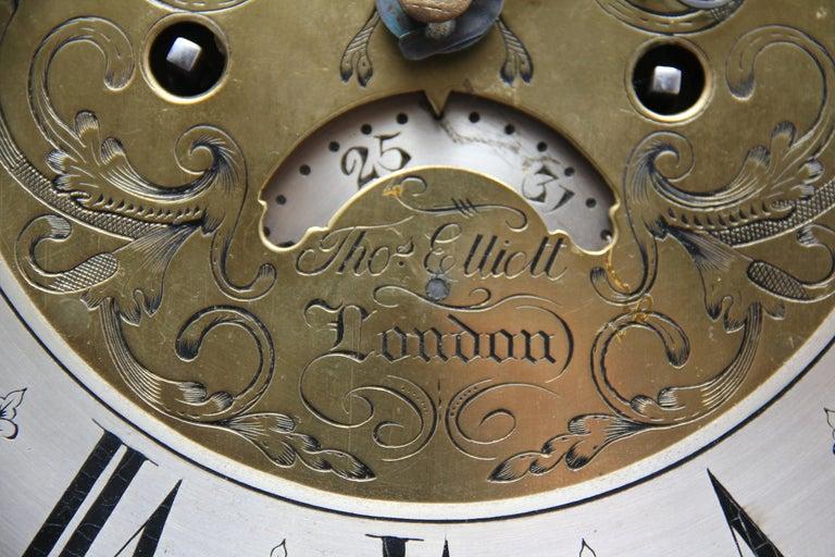 18th Century Mahogany Long Case Clock For Sale 9