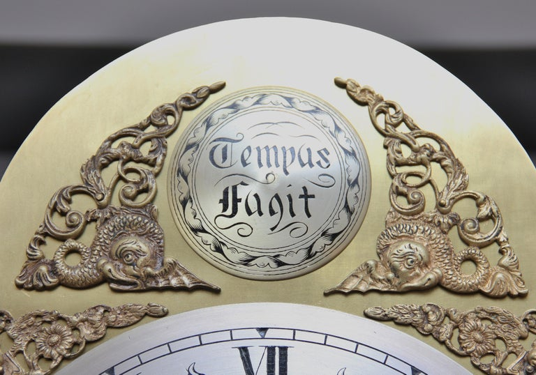 18th Century Mahogany Long Case Clock For Sale 10