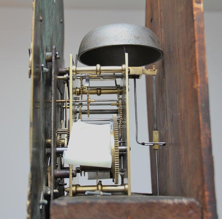 18th Century Mahogany Long Case Clock For Sale 11