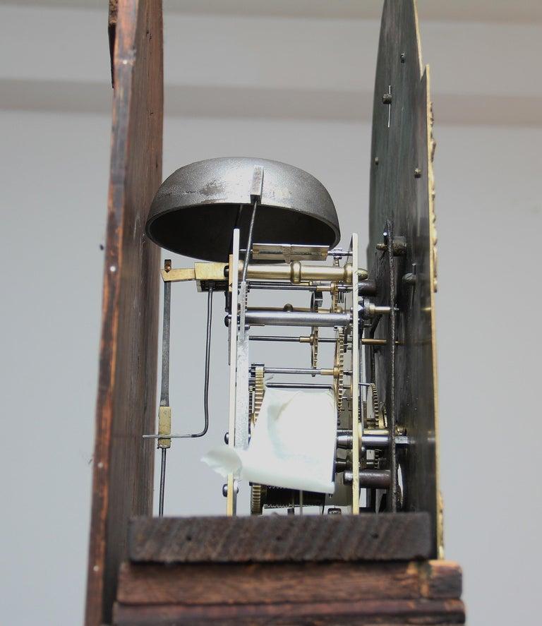 18th Century Mahogany Long Case Clock For Sale 12