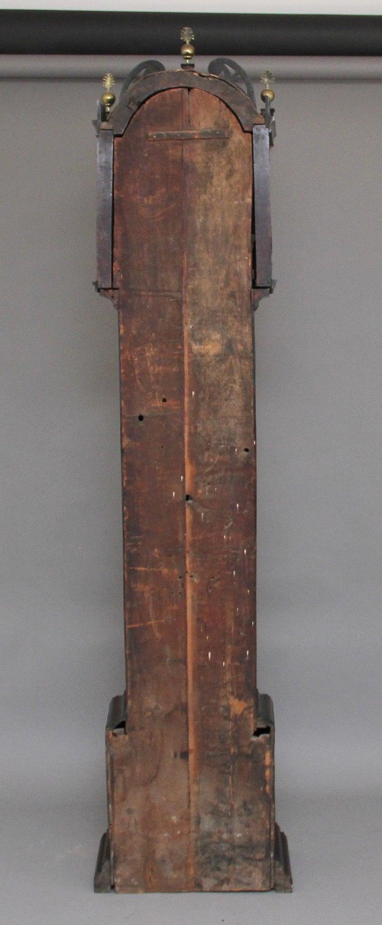 Late 18th Century 18th Century Mahogany Long Case Clock For Sale