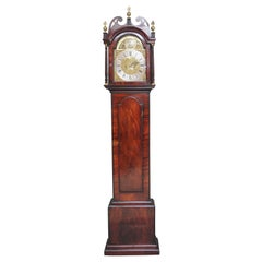 18th Century Mahogany Long Case Clock
