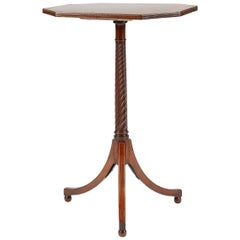 18th Century Mahogany Occasional Table