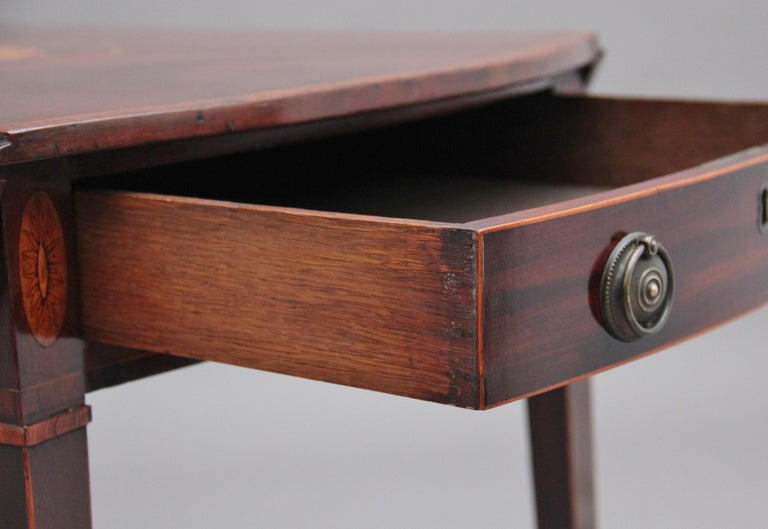 18th Century Mahogany Pembroke Table For Sale 4