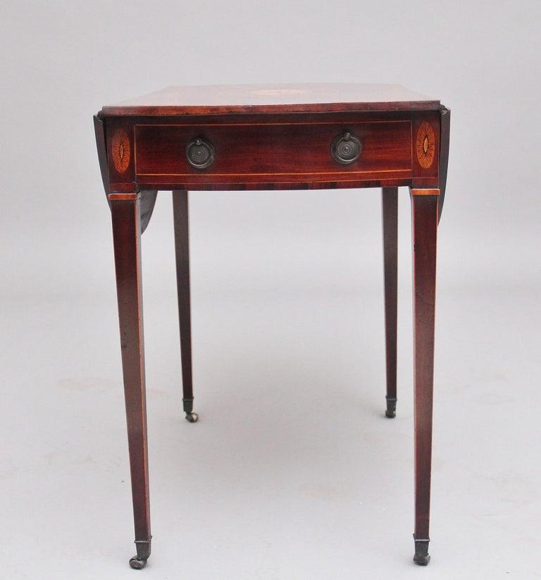 British 18th Century Mahogany Pembroke Table For Sale