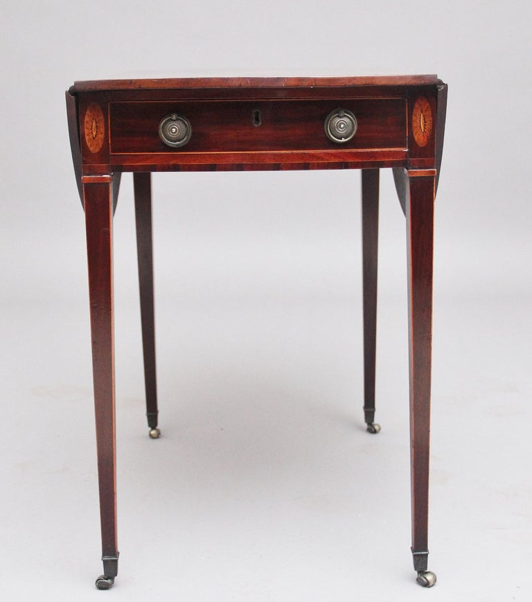 Late 18th Century 18th Century Mahogany Pembroke Table For Sale