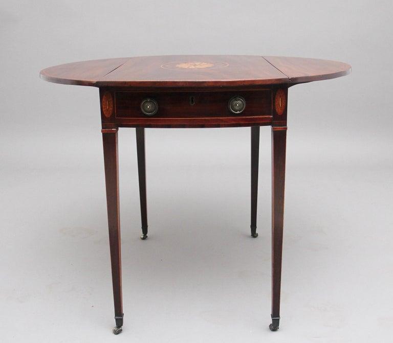 18th Century Mahogany Pembroke Table For Sale 1