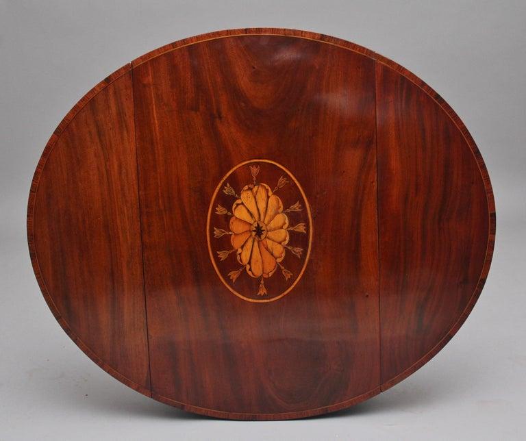 18th Century Mahogany Pembroke Table For Sale 2