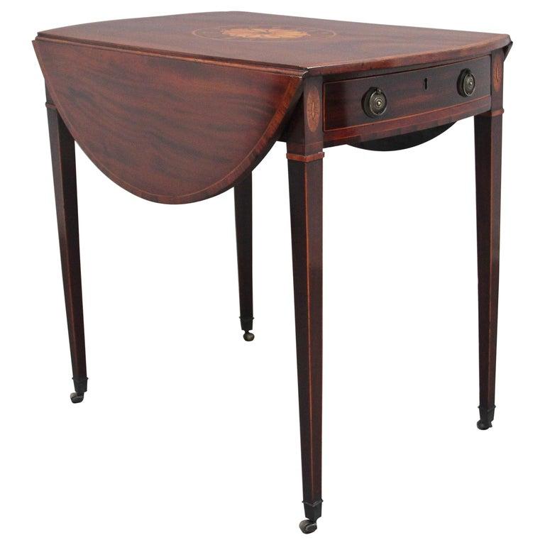 18th Century Mahogany Pembroke Table For Sale