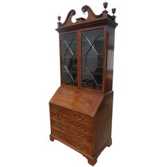18th Century Mahogany Secretary Bookcase