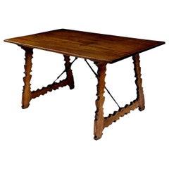 18th Century Mahogany Spanish Table