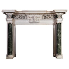 18th Century Marble Mantelpiece Designed by Isaac Ware