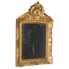 18th Century Mirror, Gilded, Original Glass, Baroque