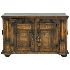 18th Century Model Sideboard Renaissance Style German Miniature Furniture