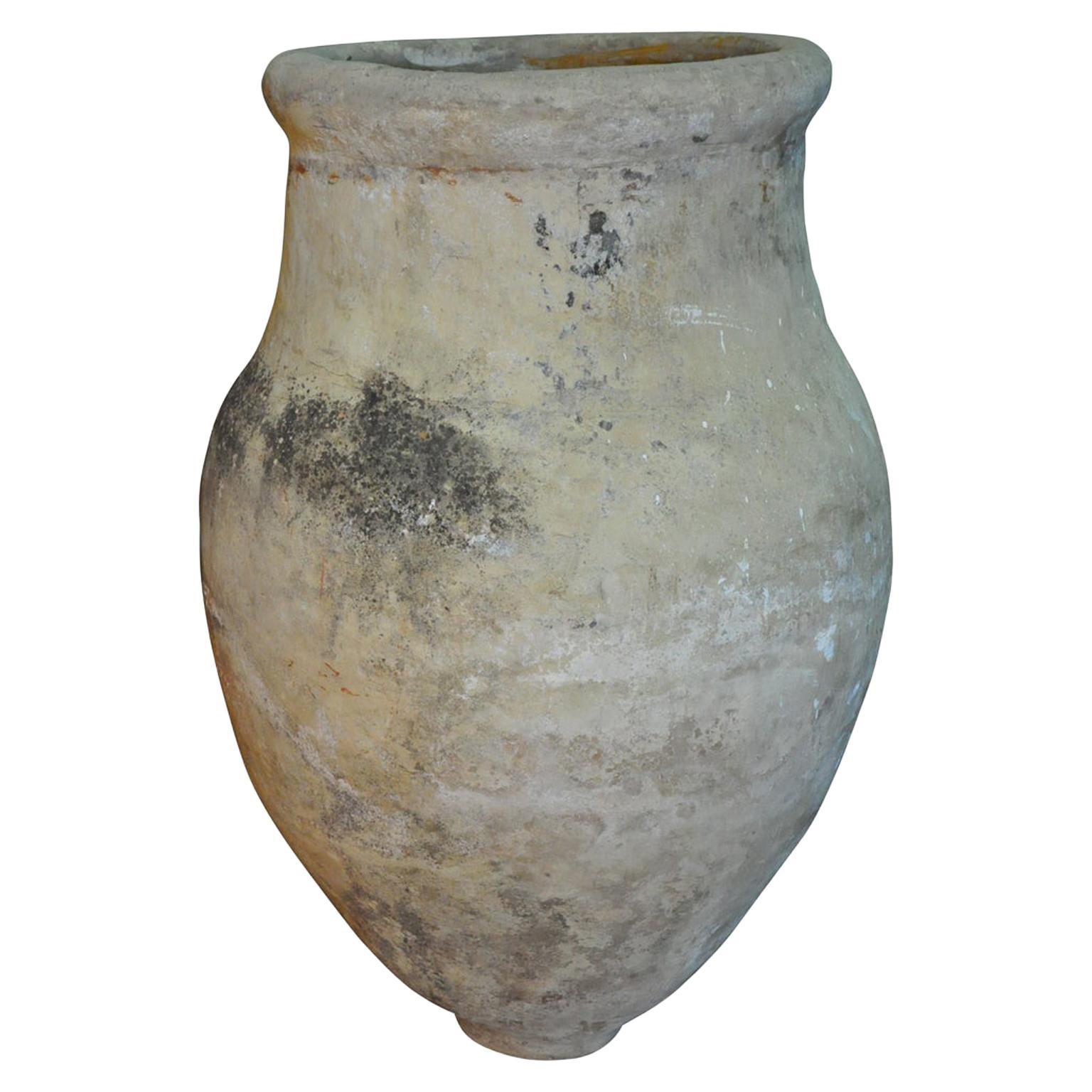 18th Century Monumental Spanish Olive Oil Jar