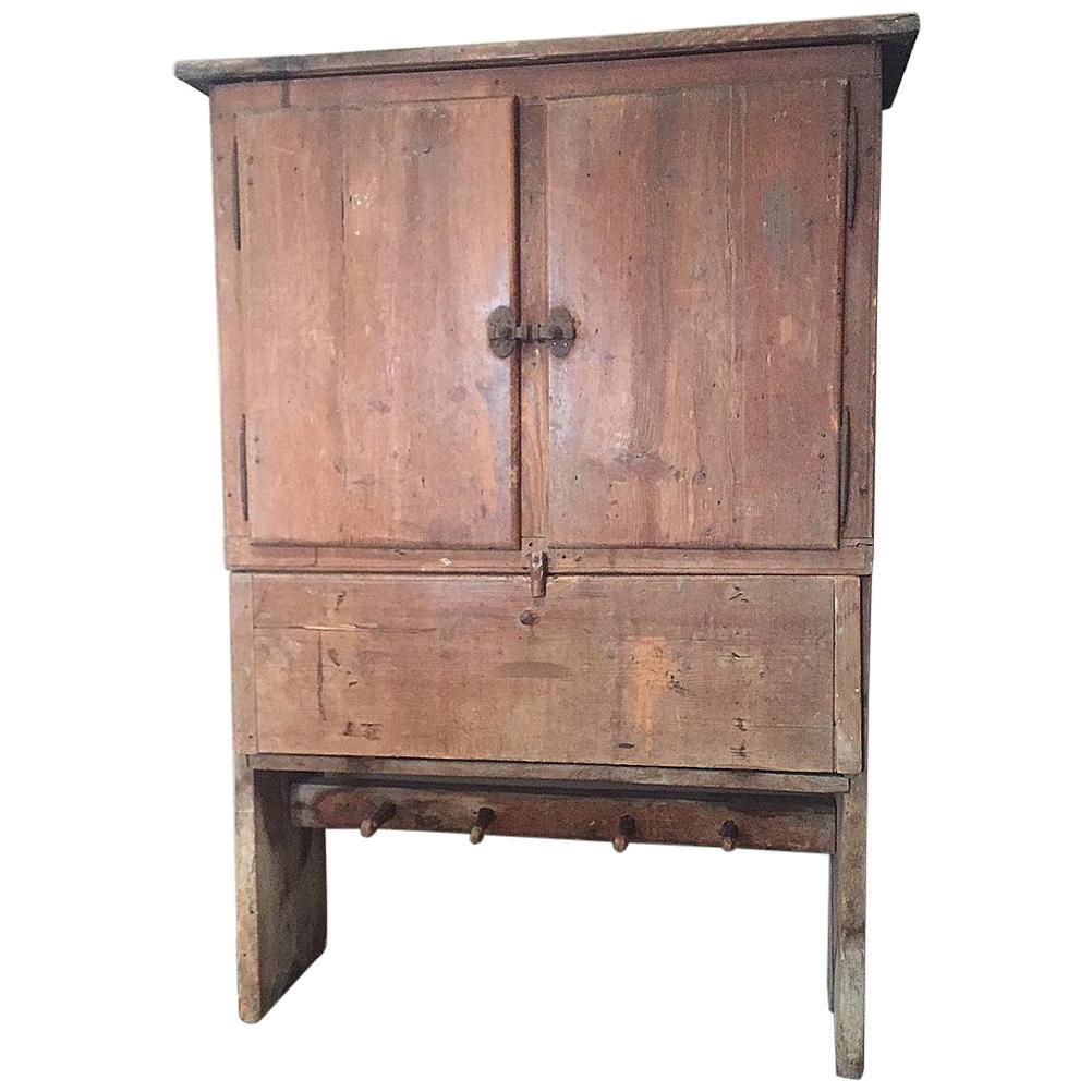 18th Century Mountain Kitchen Cupboard