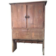 18th Century Mountain Kitchen Cupboard