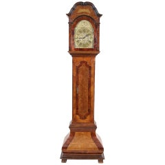 18th Century Movement Longcase Type Grandfather Clock
