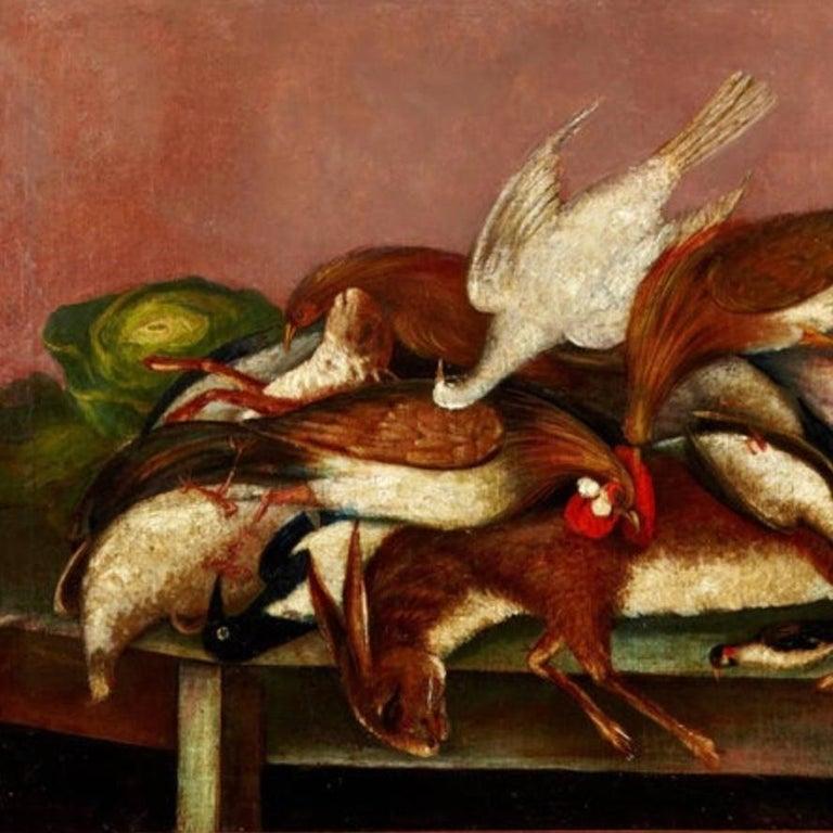 Renaissance 18th Century Nature Morte Dutch / French Oil Painting For Sale