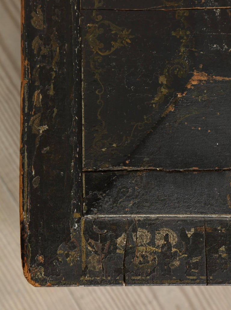 18th Century Neoclassical Gustavian Chinoiserie Container, Sweden, circa 1775 For Sale 2