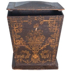 18th Century Neoclassical Gustavian Chinoiserie Container, Sweden, Circa 1775