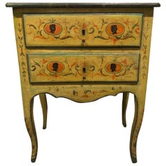 18th Century Neoclassical Painted Italian Commode