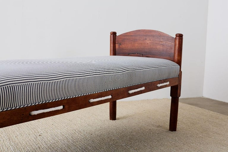 18th Century New England Cherry Daybed Or Rope Bed At 1stdibs