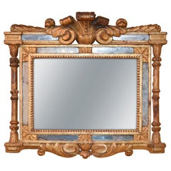 18th Century Northern Italian Carved Wood Mirror