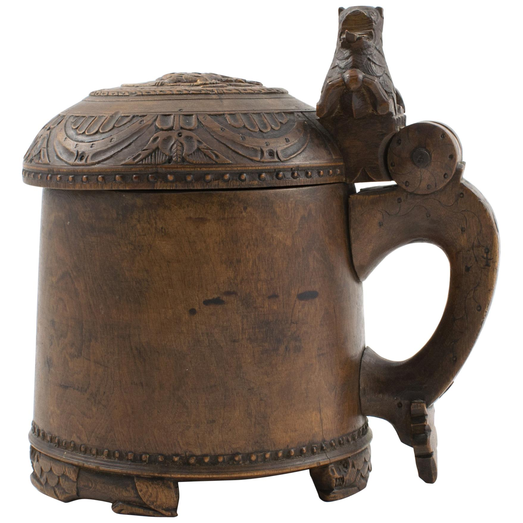 18th Century Norwegian Baroque Tankard