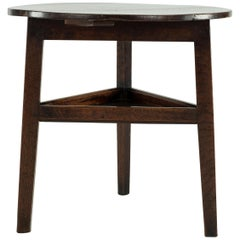 18th Century Oak Cricket Table