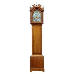 18th Century Oak Longcase Clock by James Draycot Wells