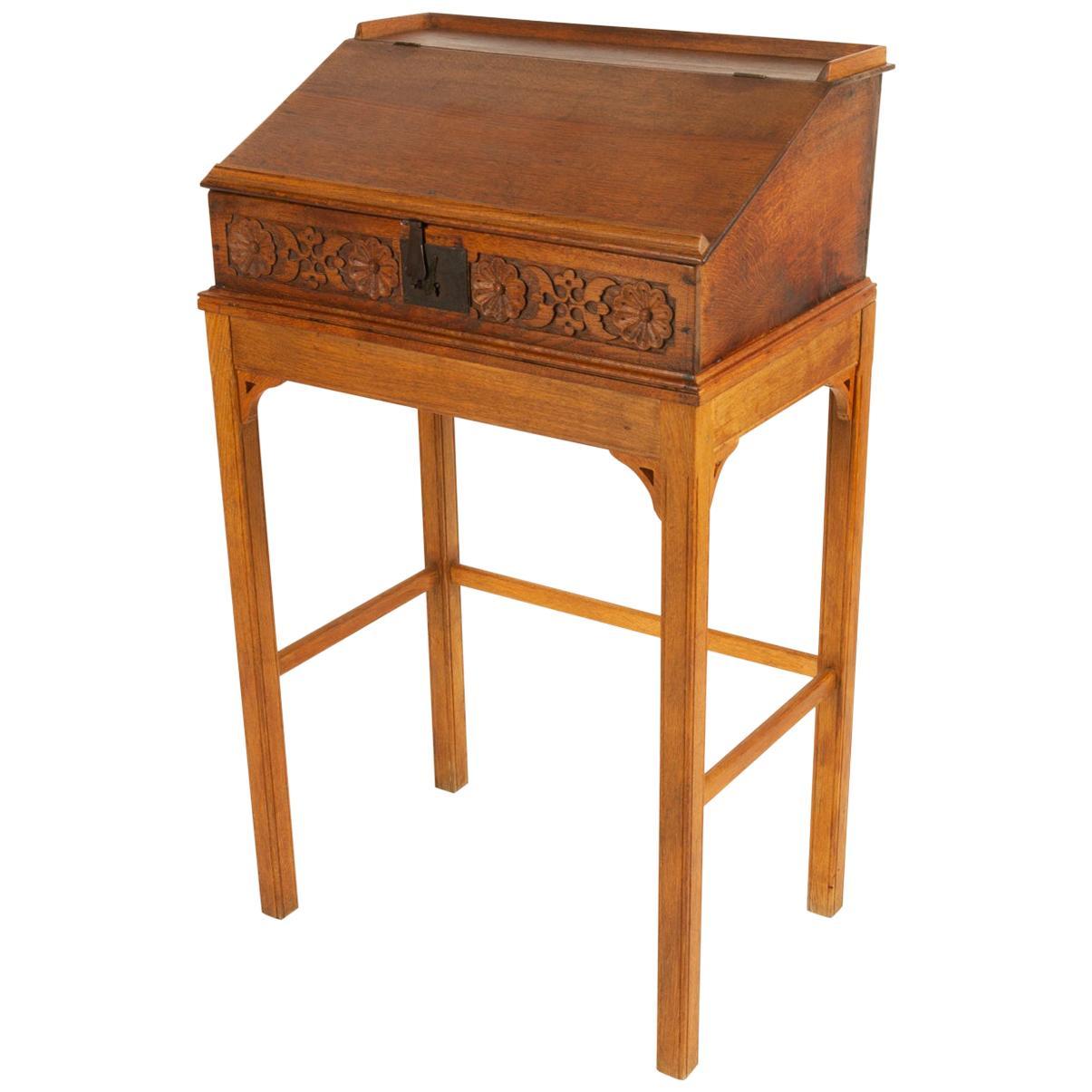 18th Century Oak Writing Desk
