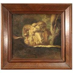 18th Century Oil on Canvas Italian Animal Painting, 1770