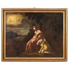 18th Century Oil on Canvas Italian Mythological Painting, 1770